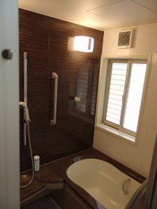 シェアハウス山口赤妻の浴室