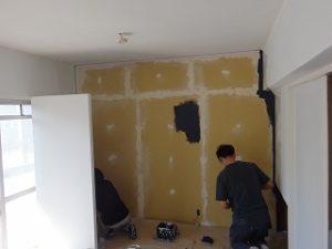 個室の改装